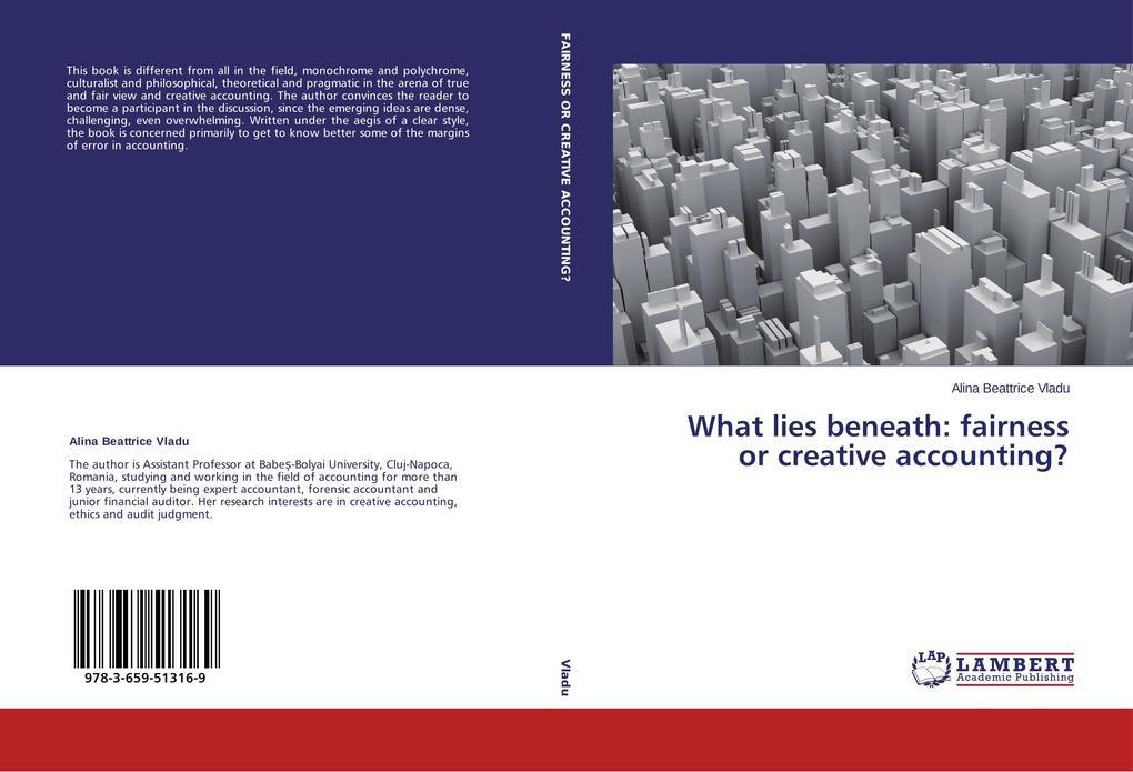 What lies beneath: fairness or creative accounting? als Buch (kartoniert)