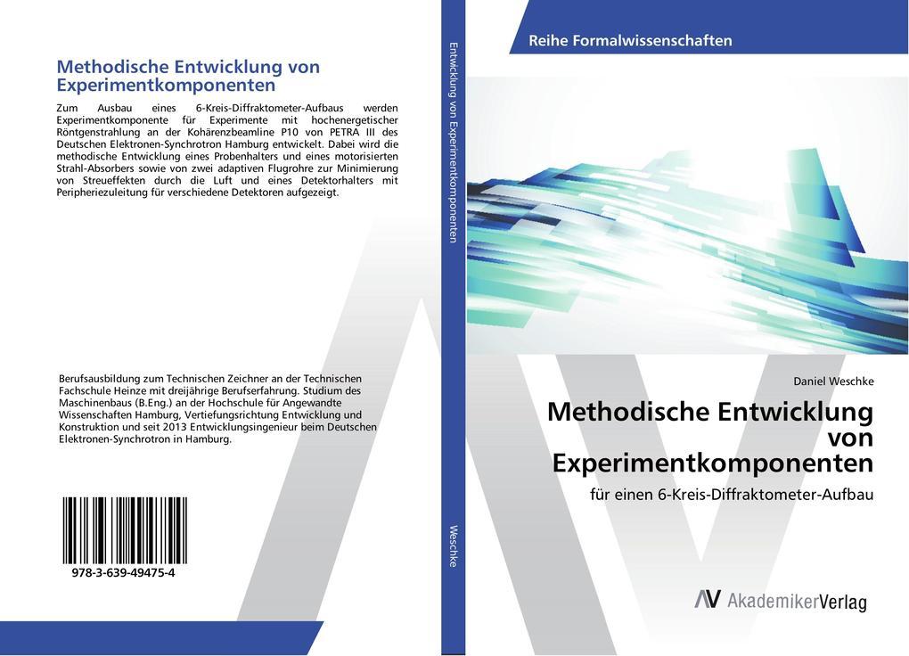 Methodische Entwicklung von Experimentkomponenten als Buch (kartoniert)