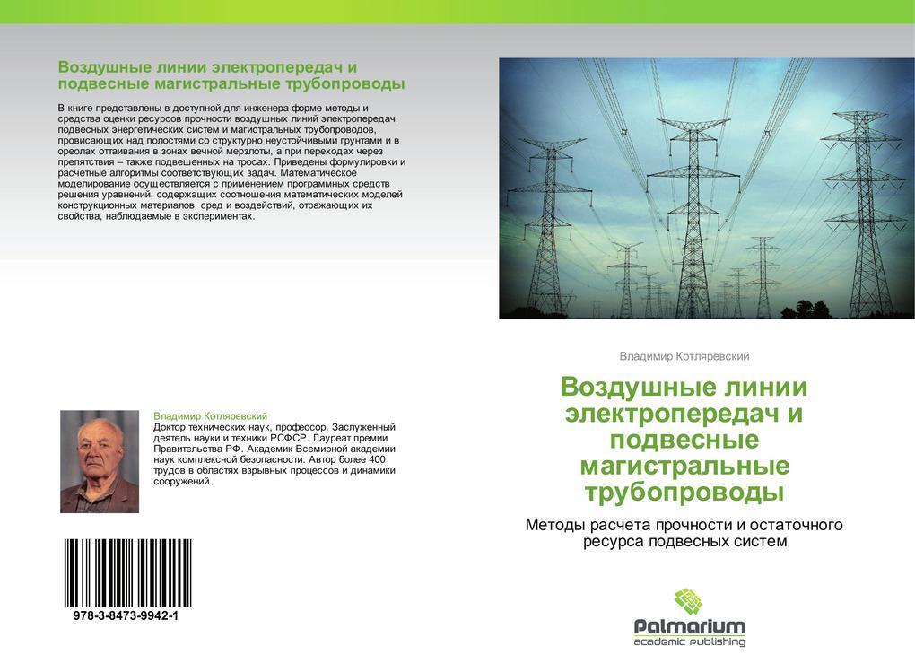 Vozdushnye linii elektroperedach i podvesnye magistral'nye truboprovody als Buch (kartoniert)