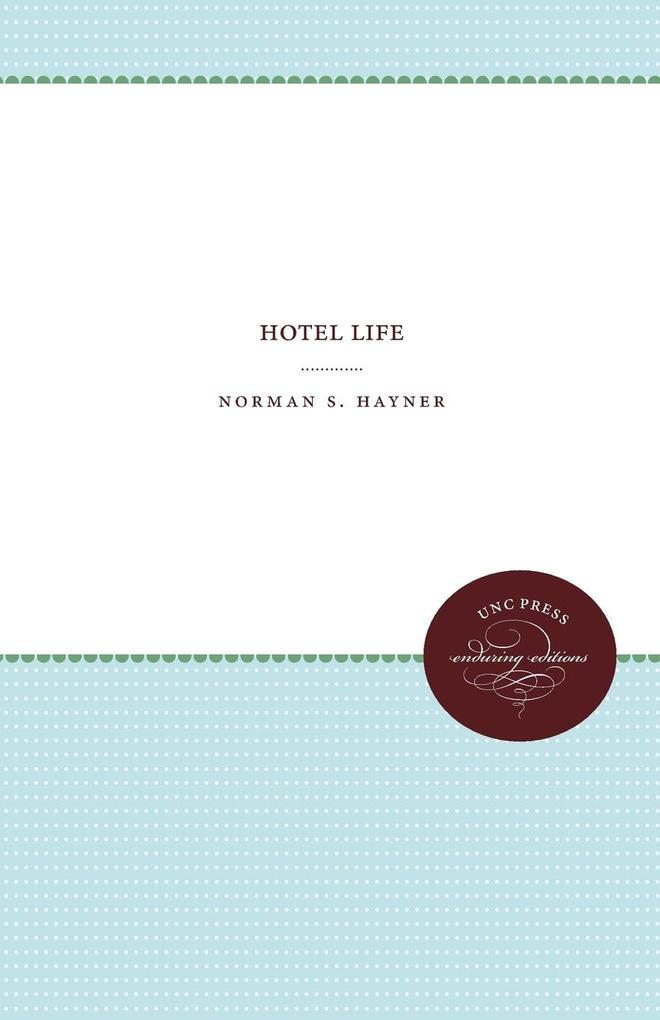 Hotel Life als Taschenbuch