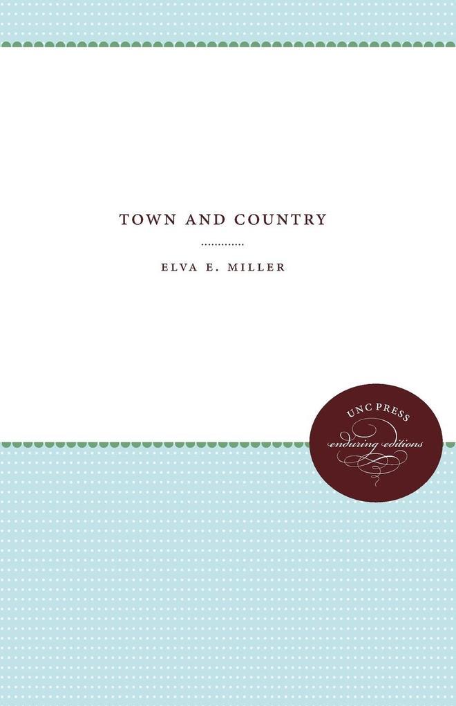 Town and Country als Taschenbuch