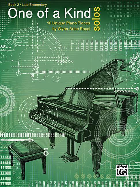 One of a Kind Solos, Bk 2: 10 Unique Piano Pieces als Taschenbuch