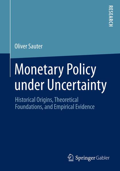 Monetary Policy under Uncertainty als Buch (kartoniert)