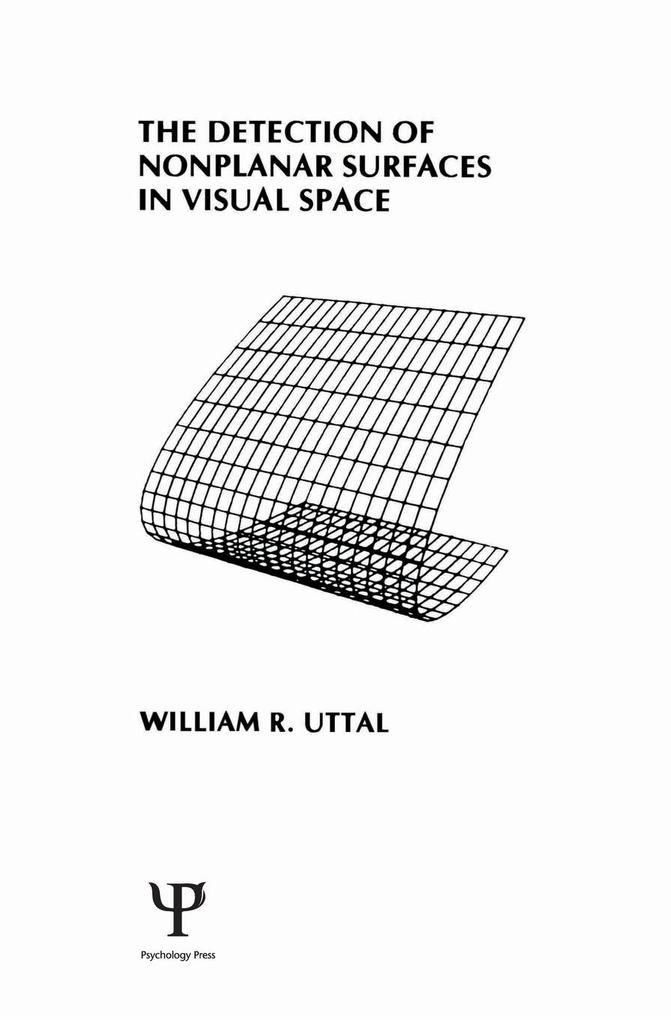 The Detection of Nonplanar Surfaces in Visual Space als eBook epub