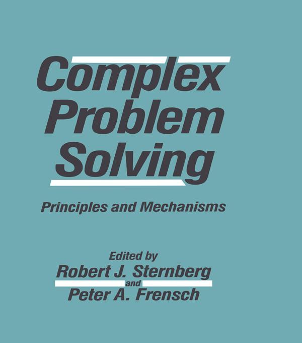 Complex Problem Solving als eBook pdf