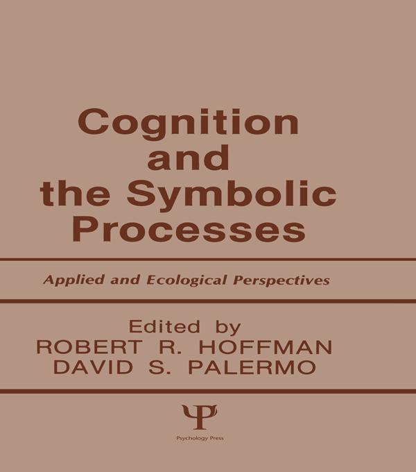 Cognition and the Symbolic Processes als eBook epub