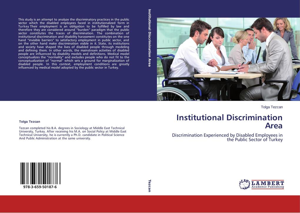 Institutional Discrimination Area als Buch (kartoniert)