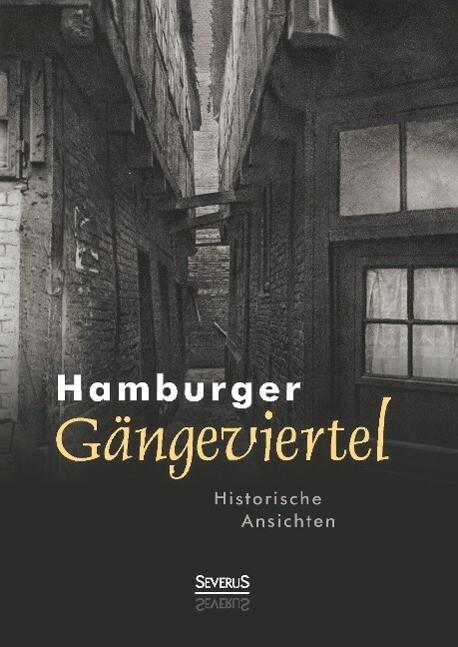 Hamburger Gängeviertel. Historische Ansichten als Buch (gebunden)