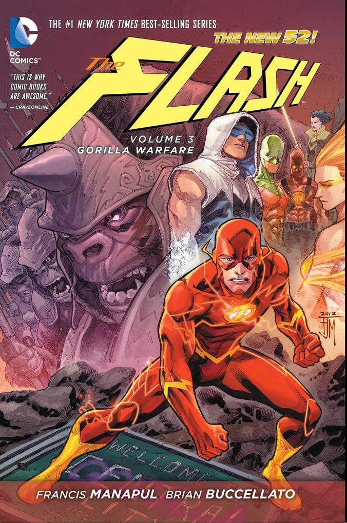 The Flash Vol. 3 Gorilla Warfare (The New 52) als Taschenbuch