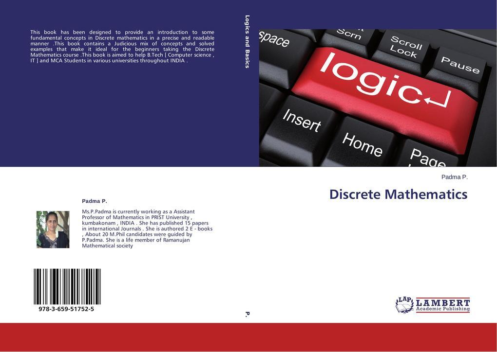 Discrete Mathematics als Buch (kartoniert)