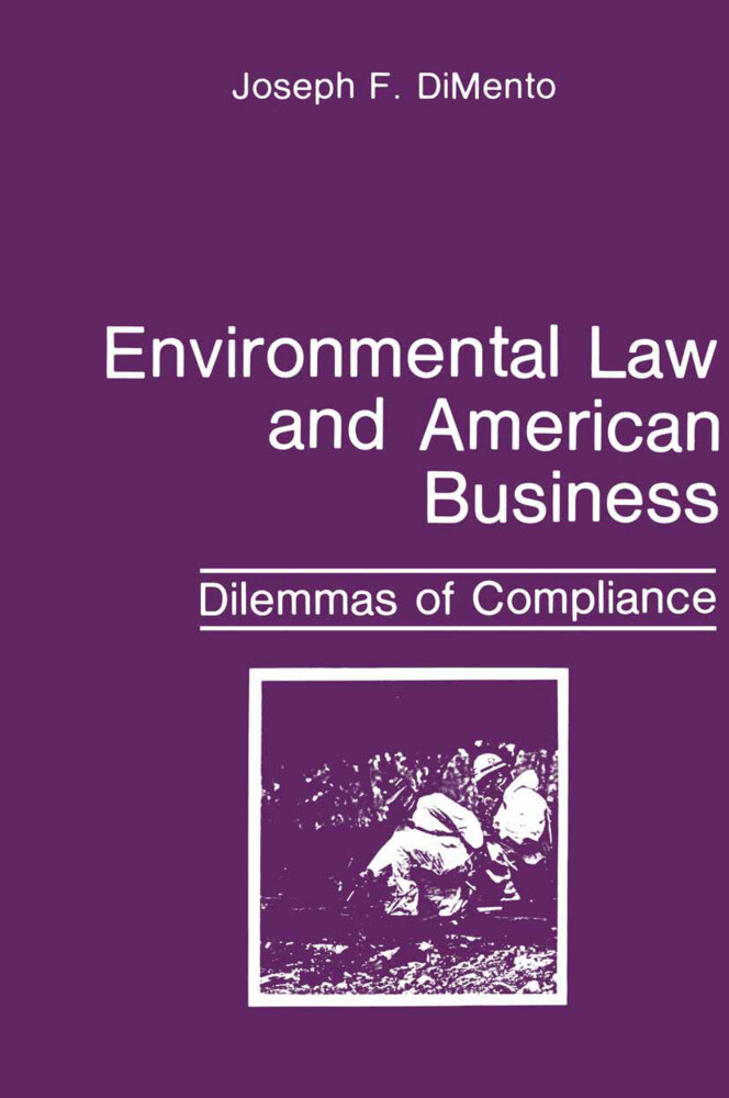Environmental Law and American Business als Buch (gebunden)