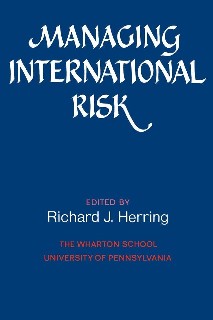 Managing International Risk als Buch (kartoniert)