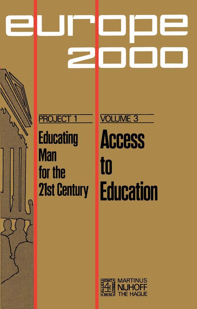 Access to Education als Buch (gebunden)