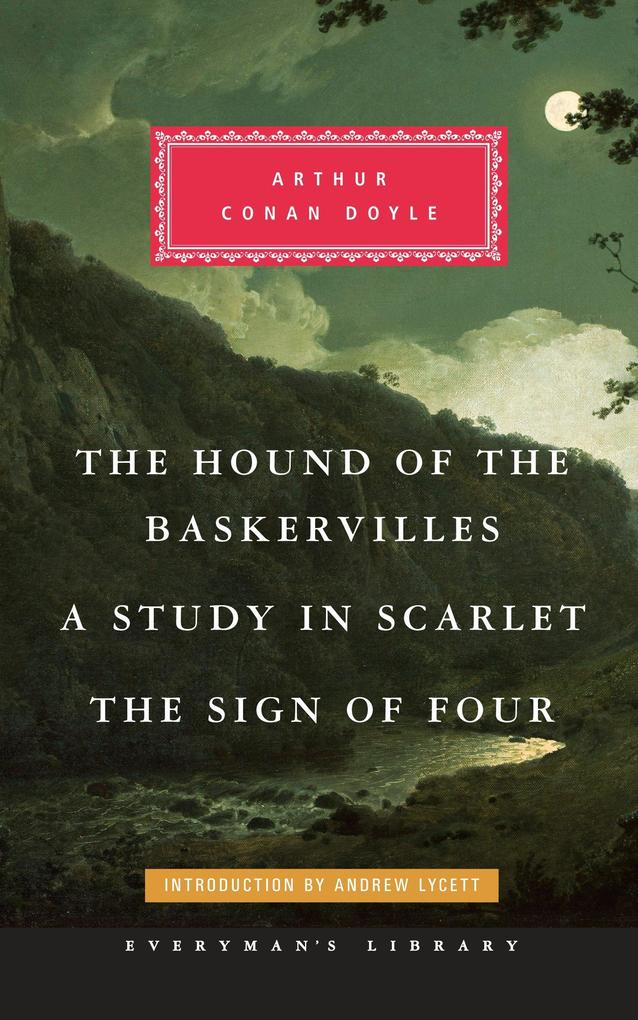 The Hound of the Baskervilles, a Study in Scarlet, the Sign of Four als Buch (gebunden)