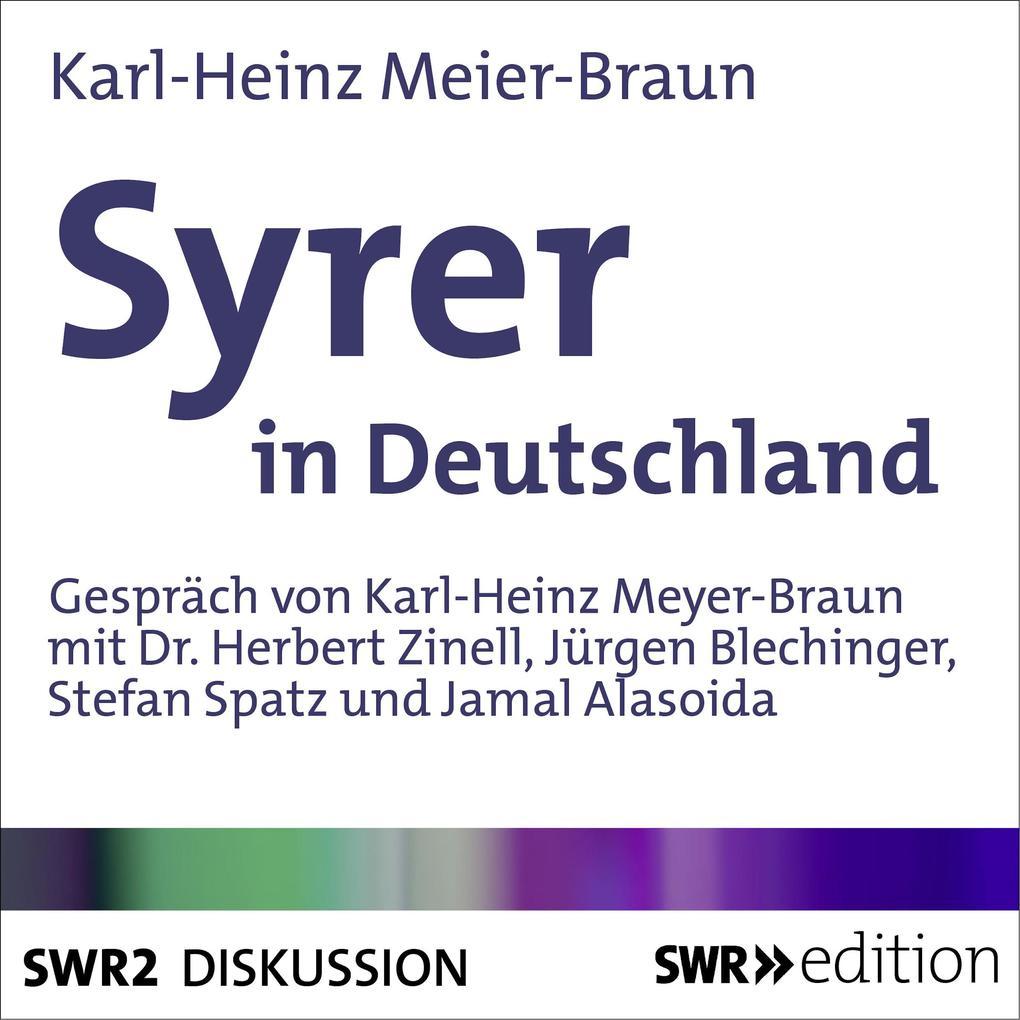 Syrer in Deutschland als Hörbuch Download