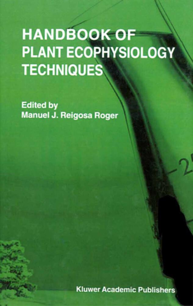 Handbook of Plant Ecophysiology Techniques als Buch (gebunden)