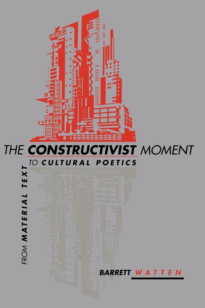 The Constructivist Moment als Taschenbuch