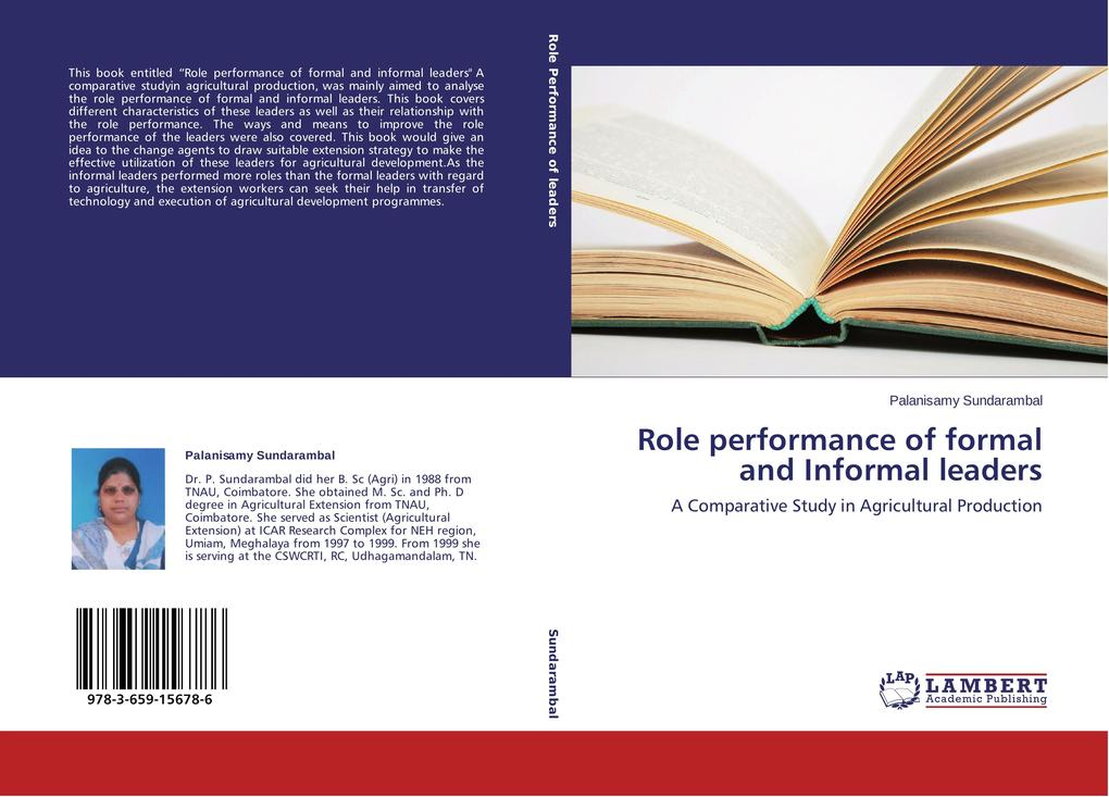 Role performance of formal and Informal leaders als Buch (kartoniert)