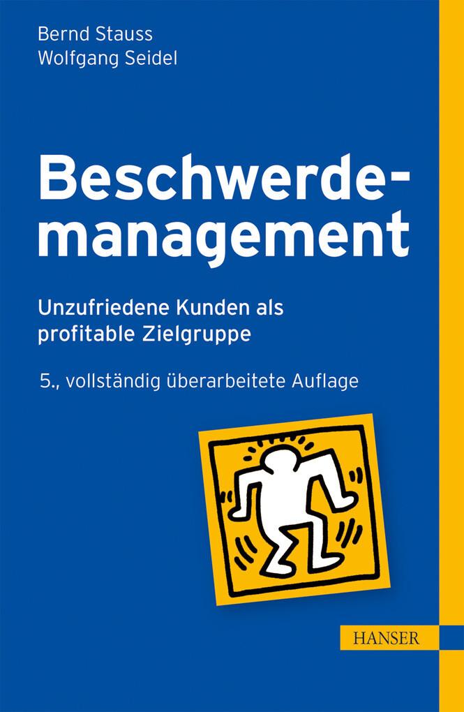 Beschwerdemanagement als eBook pdf