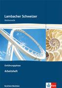 Lambacher Schweizer. Einführungsphase. Arbeitsheft plus Lösungsheft. Nordrhein-Westfalen