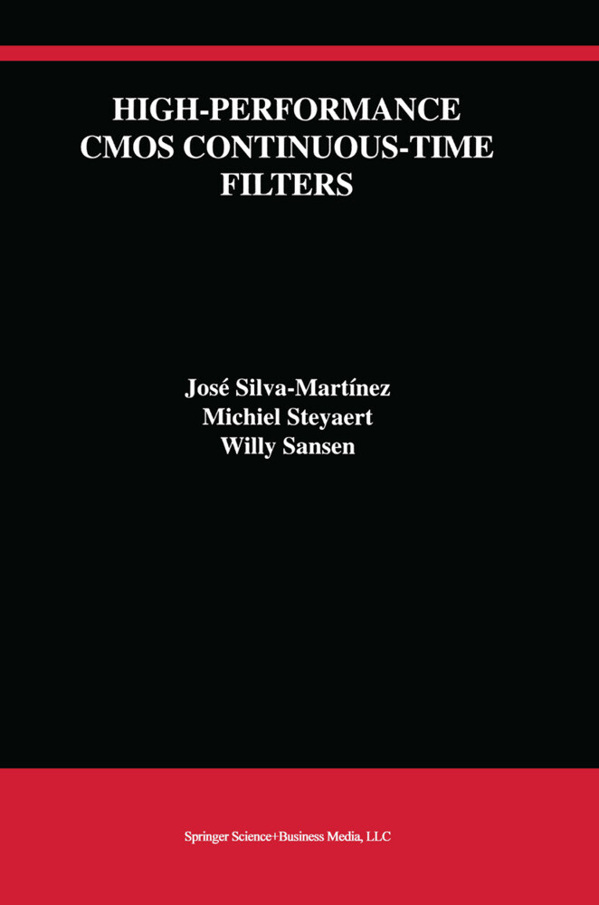 High-Performance CMOS Continuous-Time Filters als Buch (gebunden)