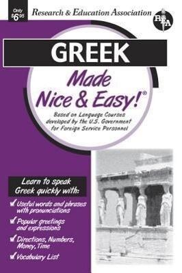 Greek Made Nice & Easy als Taschenbuch