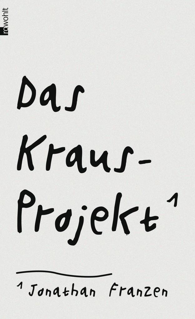 Das Kraus-Projekt als Buch (gebunden)