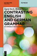 Contrasting English and German Grammar