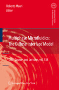 Multiphase Microfluidics: The Diffuse Interface Model
