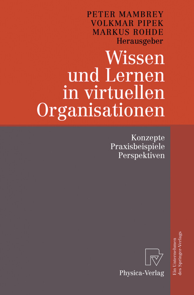 Wissen und Lernen in virtuellen Organisationen als Buch (kartoniert)