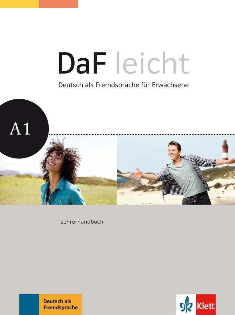 DaF leicht / Lehrerhandbuch A1 als Buch (kartoniert)