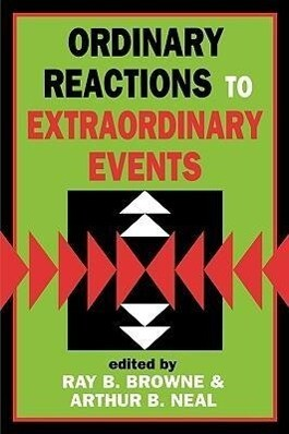 Ordinary Reactions to Extraordinary Events als Taschenbuch