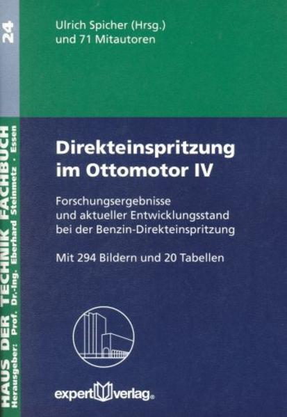 Direkteinspritzung im Ottomotor 4 als Buch (kartoniert)