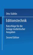 Editionstechnik