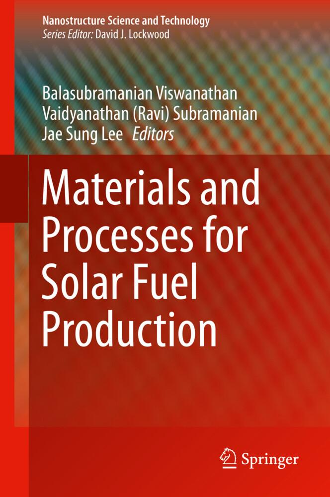 Materials and Processes for Solar Fuel Production als Buch (gebunden)