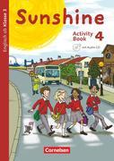Sunshine 4. Schuljahr. Activity Book mit Audio-CD und Minibildkarten und Faltbox
