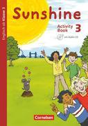 Sunshine 3. Schuljahr. Activity Book mit Audio-CD, Minibildkarten und Faltboxen