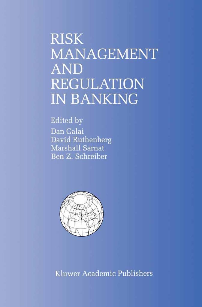 Risk Management and Regulation in Banking als Buch (gebunden)