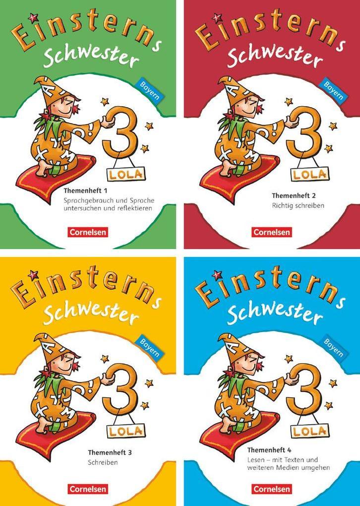 Einsterns Schwester 3. Jahrgangsstufe. 4 Themenhefte im Paket Bayern als Buch (kartoniert)