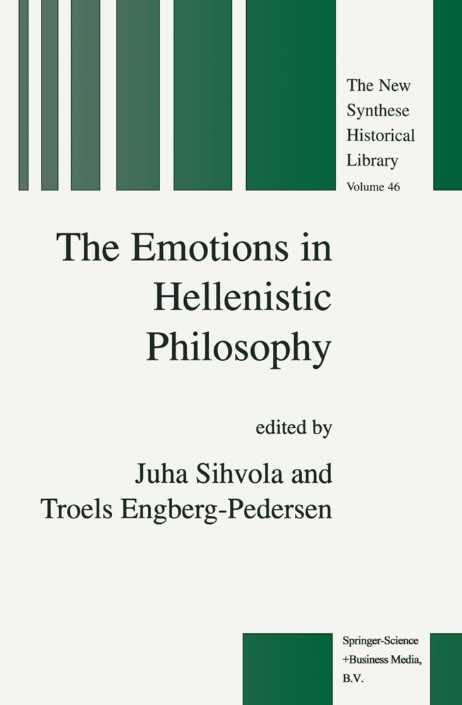 The Emotions in Hellenistic Philosophy als Buch (gebunden)