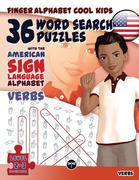 36 Word Search Puzzles with the American Sign Language Alphabet