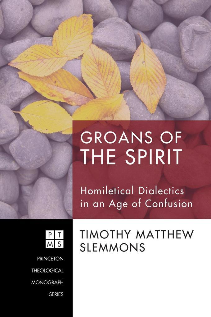 Groans of the Spirit als eBook pdf