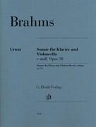 Sonate für Klavier und Violoncello e-moll op.38