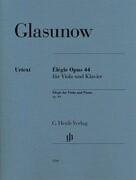 Élégie op 44 für Viola und Klavier