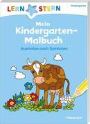 LERNSTERN Mein Kindergarten-Malbuch. Ausmalen nach Symbolen ab 4 Jahren