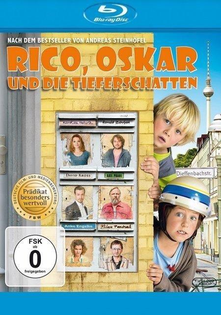 Rico, Oskar und die Tieferschatten als DVD