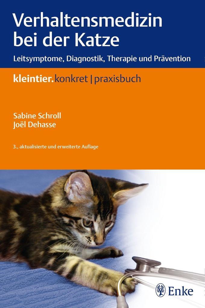 Verhaltensmedizin bei der Katze als Buch (kartoniert)