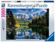 Ravensburger - Eibsee mit Wettersteingebirge und Zugspitze