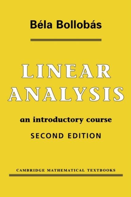 Linear Analysis als eBook pdf