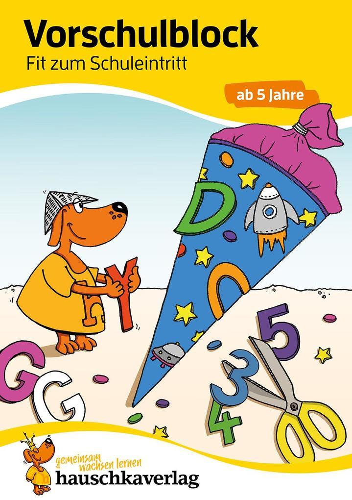 Vorschulblock - Fit zum Schuleintritt ab 5 Jahre als Buch (kartoniert)